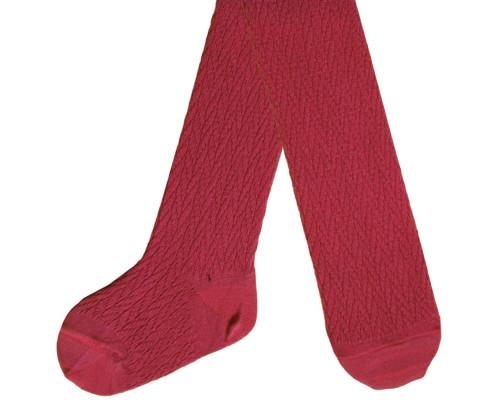 Колготки детские С 722 цвет красный