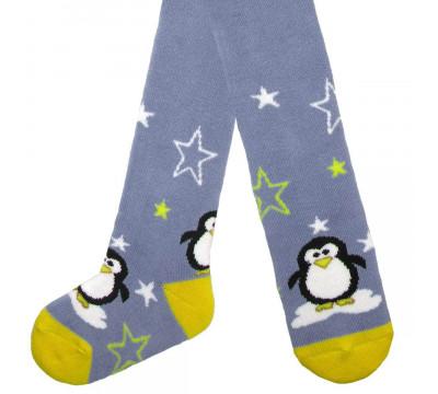 """Колготки детские плюш """"Пингвин """" 12-15 размер"""