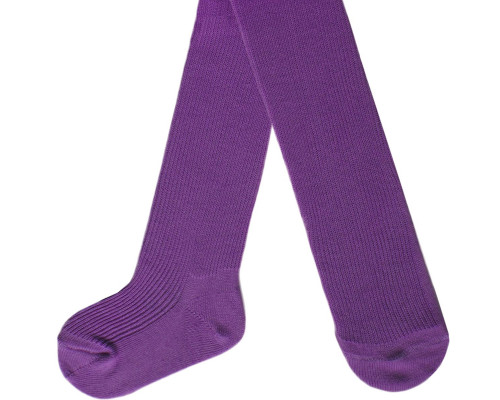 Колготки детские С 74 цвет фиолет