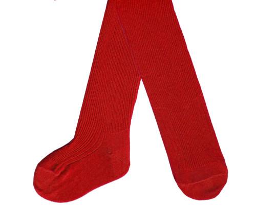 Колготки детские С 74 цвет красный