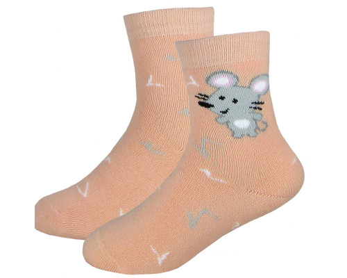 Носки детские С5061 плюш Мышонок  13-18  р-р