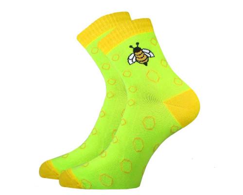 """Носки женские  С 2182 """"Пчелы """""""