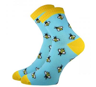 Носки женские  С 2182 Пчелы