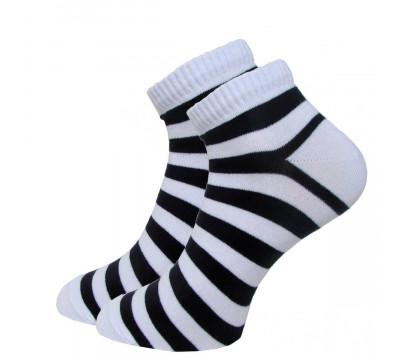 Носки женские С2181 цветные короткие