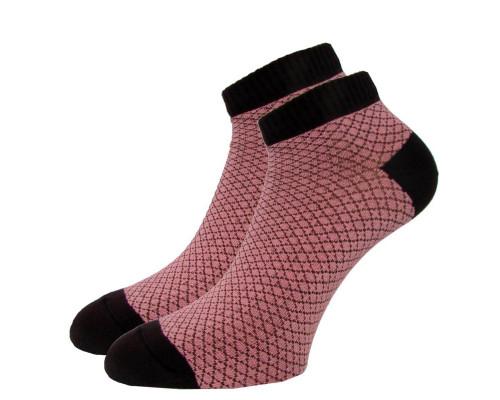 Носки цветные мужские короткие  «ИЗ»
