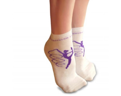 Носки детские для занятий художественной гимнастикой